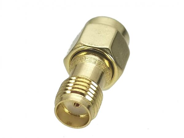 UniteCom SMA Female to RP SMA Male Connector Adaptor - 2