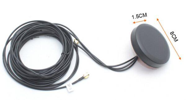 UniteCom GPS 2xLTE 3 in 1 Screw Mount Combination Antennas - 2